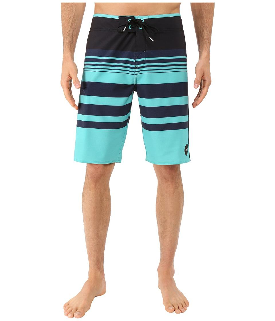 O'Neill - Hyperfreak Heist Boardshorts (Aqua) Men's Swimwear