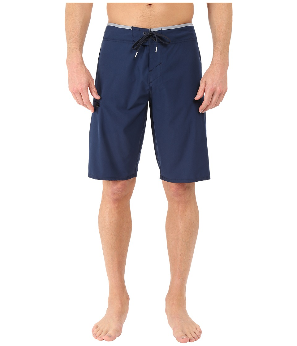O'Neill - Hyperfreak Solid Boardshorts (Navy) Men's Swimwear