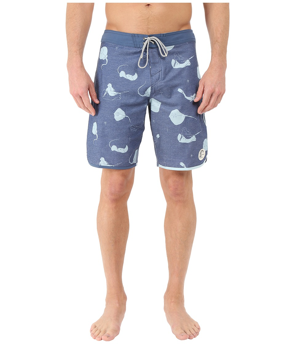 O'Neill - Retrofreak Hook Boardshorts (Navy) Men's Swimwear