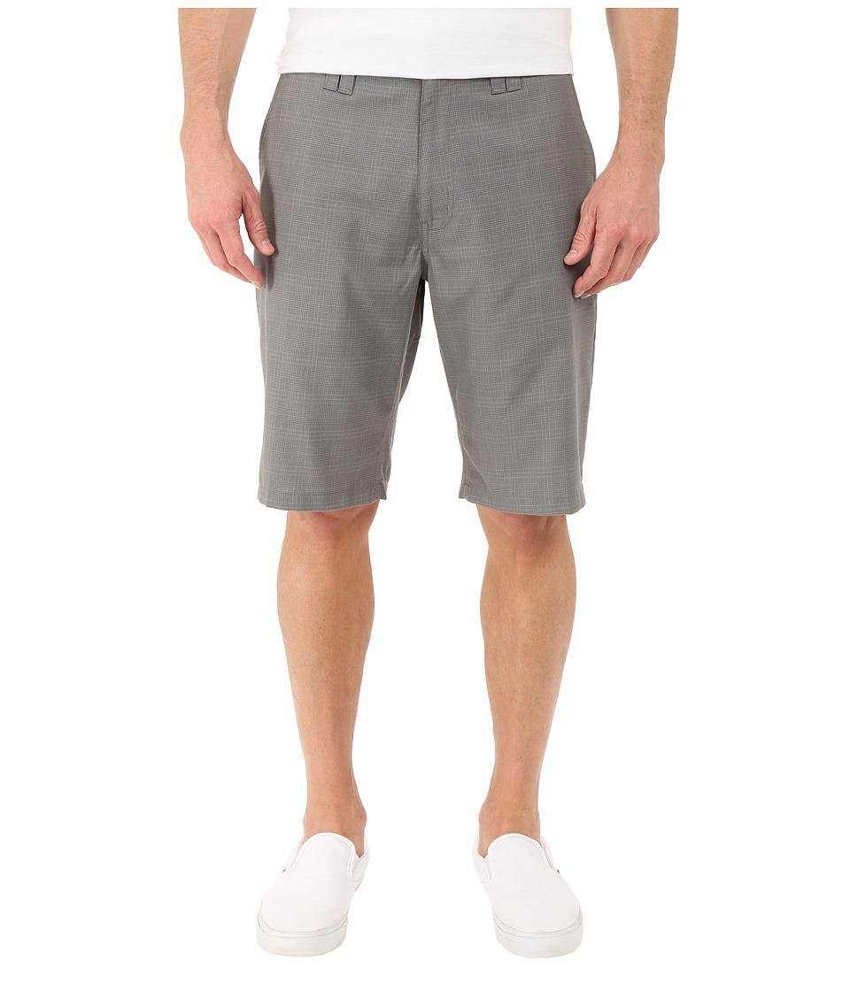 O'Neill - Delta Plaid Shorts (Grey) Men's Shorts