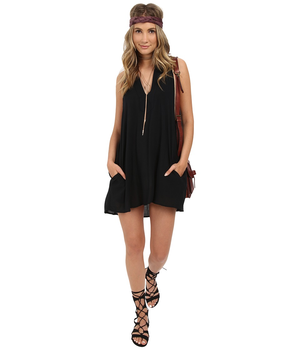 Obey - Capricorn Dress (Black) Women's Dress