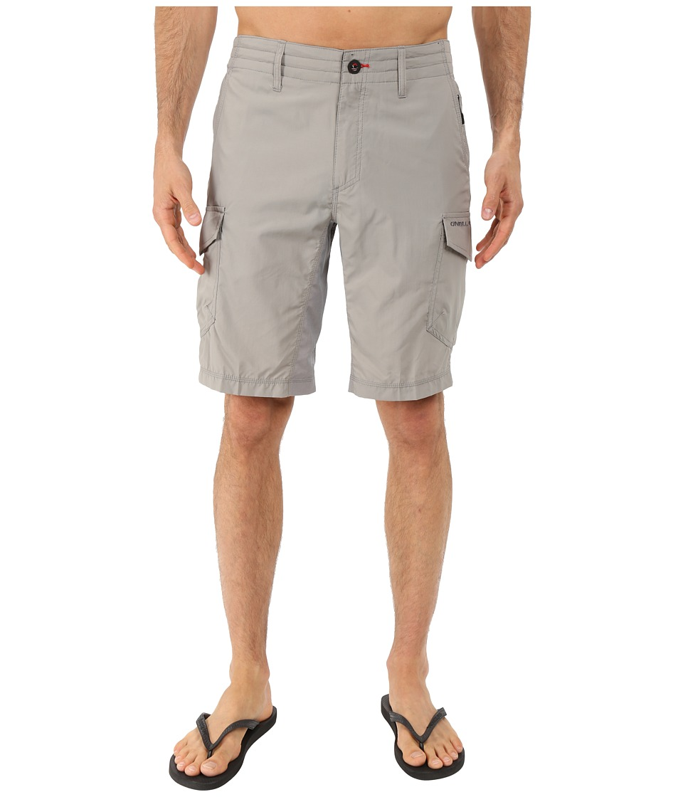 O'Neill - Traveler Cargo Hybrid Short (Light Grey) Men's Swimwear