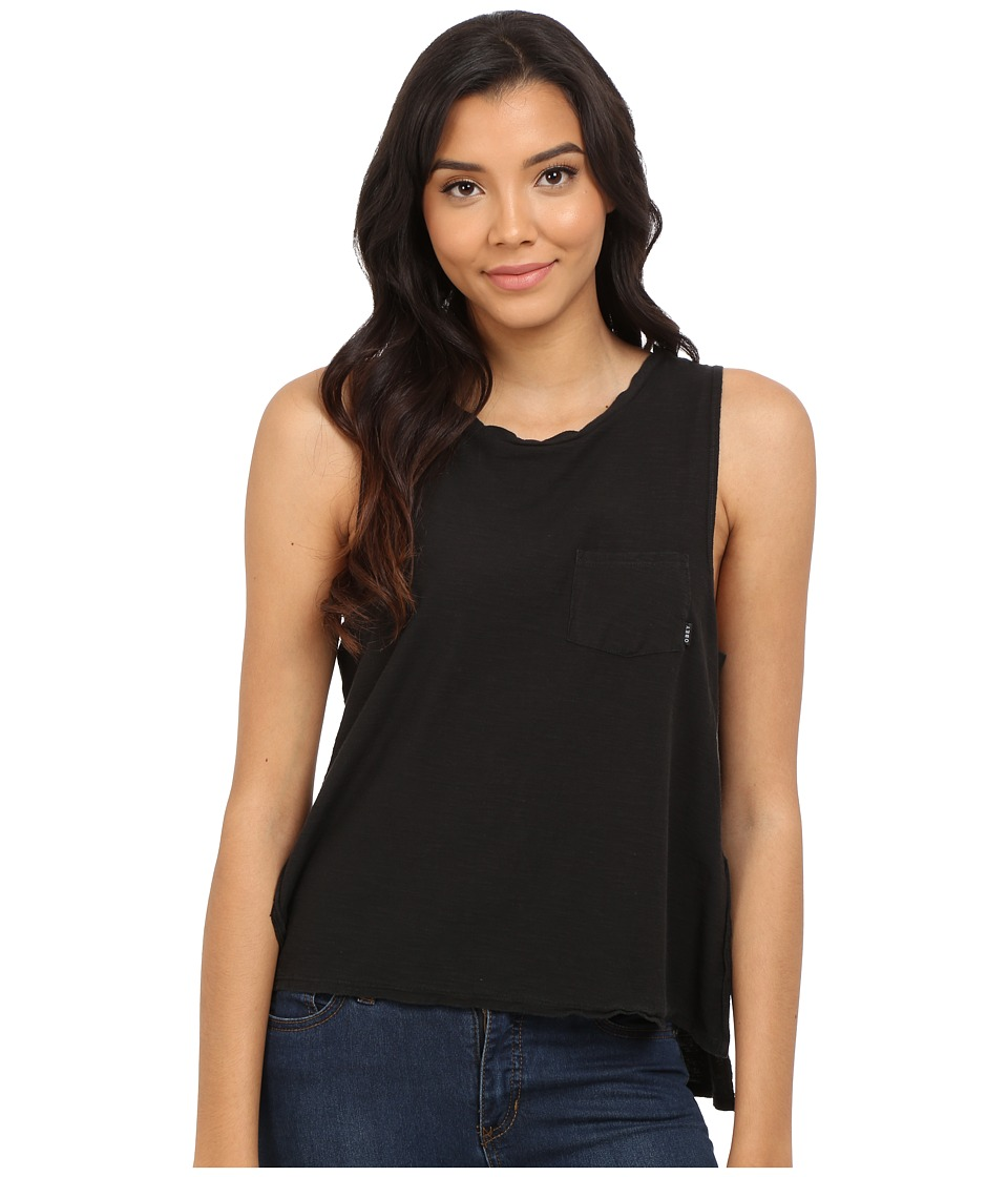 Obey - Harper Tank Top (Black) Women's Sleeveless
