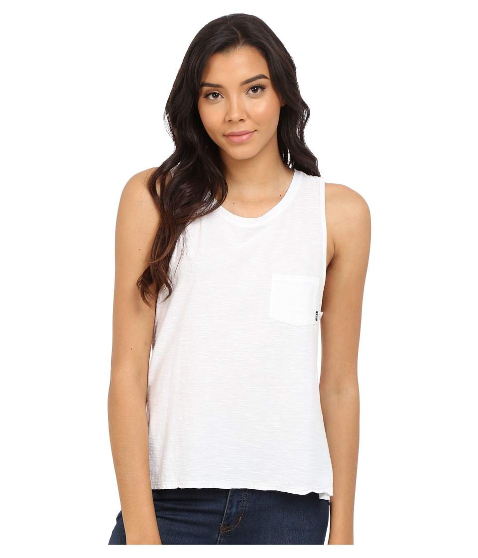 Obey - Harper Tank Top (White) Women's Sleeveless