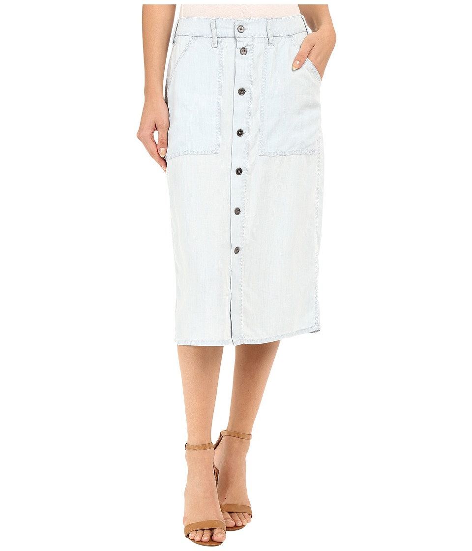 Obey - St. Gilles Skirt (Chambray) Women's Skirt