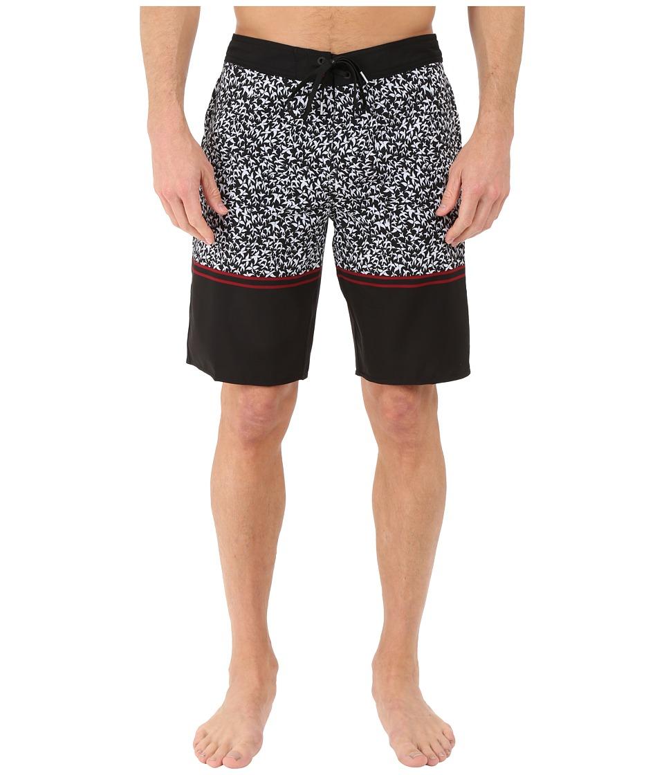 O'Neill - Hyperfreak Burner Boardshorts (Black) Men's Swimwear