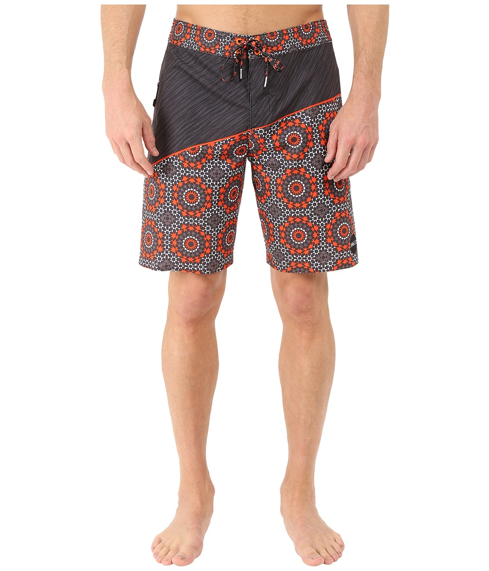 O'Neill - Hyperfreak Oblique 2.0 Boardshorts (Orange) Men's Swimwear