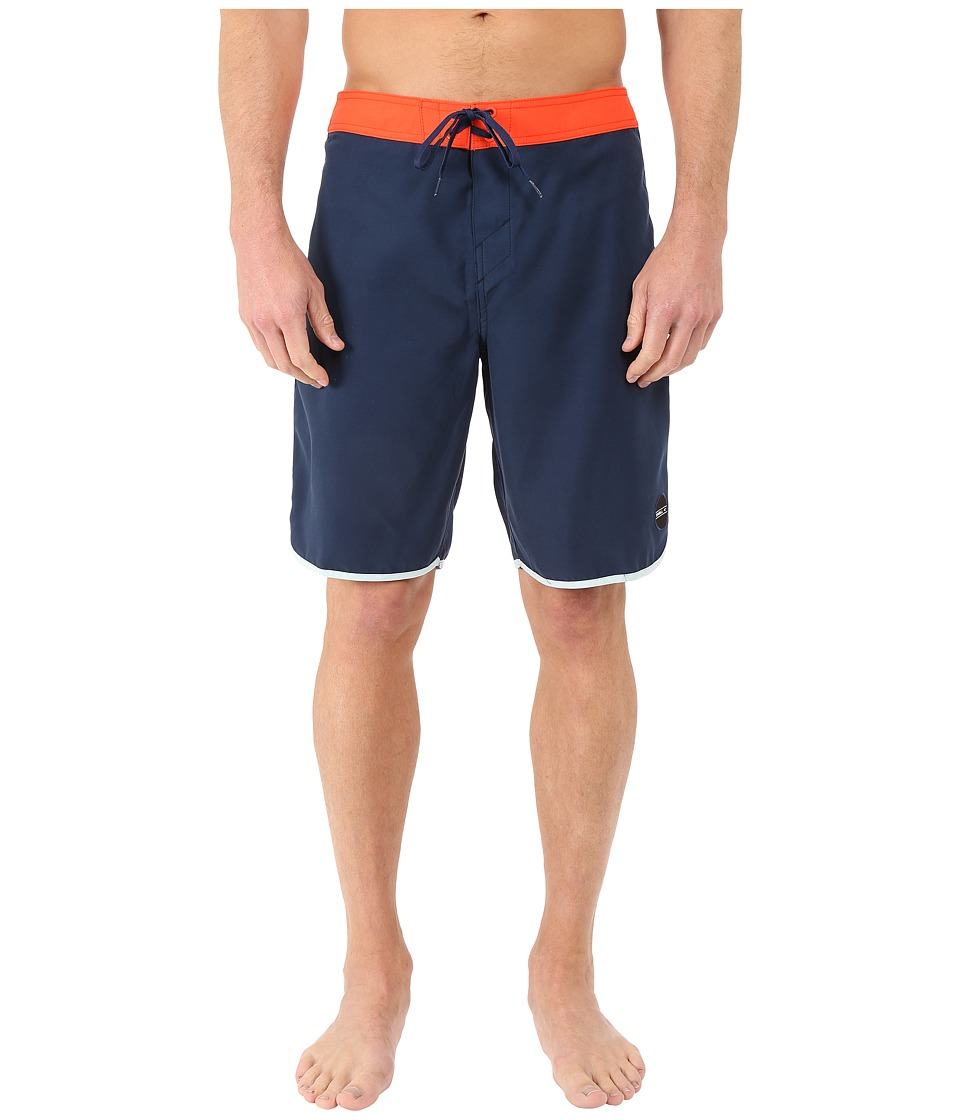 O'Neill - Santa Cruz Scallop Boardshorts (Dark Navy) Men's Swimwear
