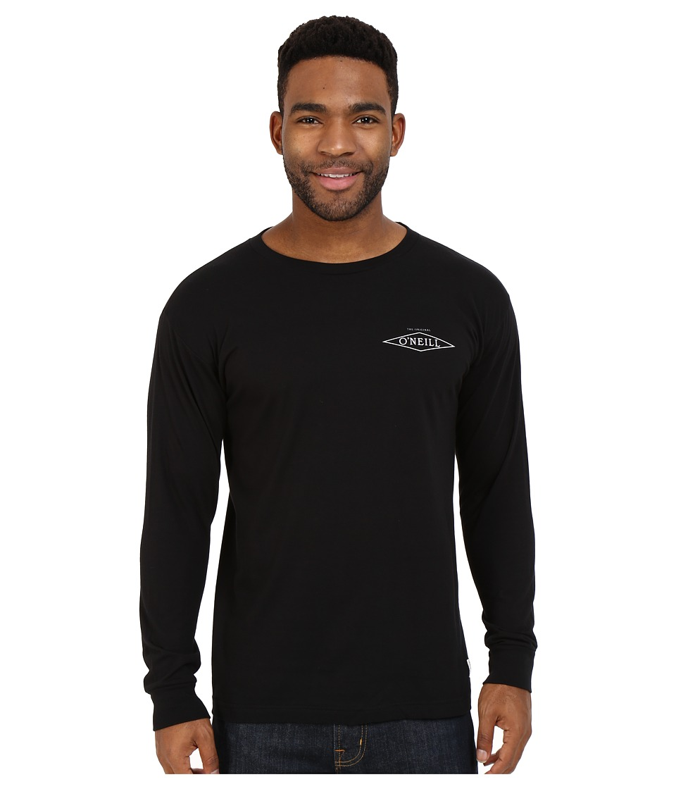 O'Neill - Convert Long Sleeve Tee (Black) Men's T Shirt