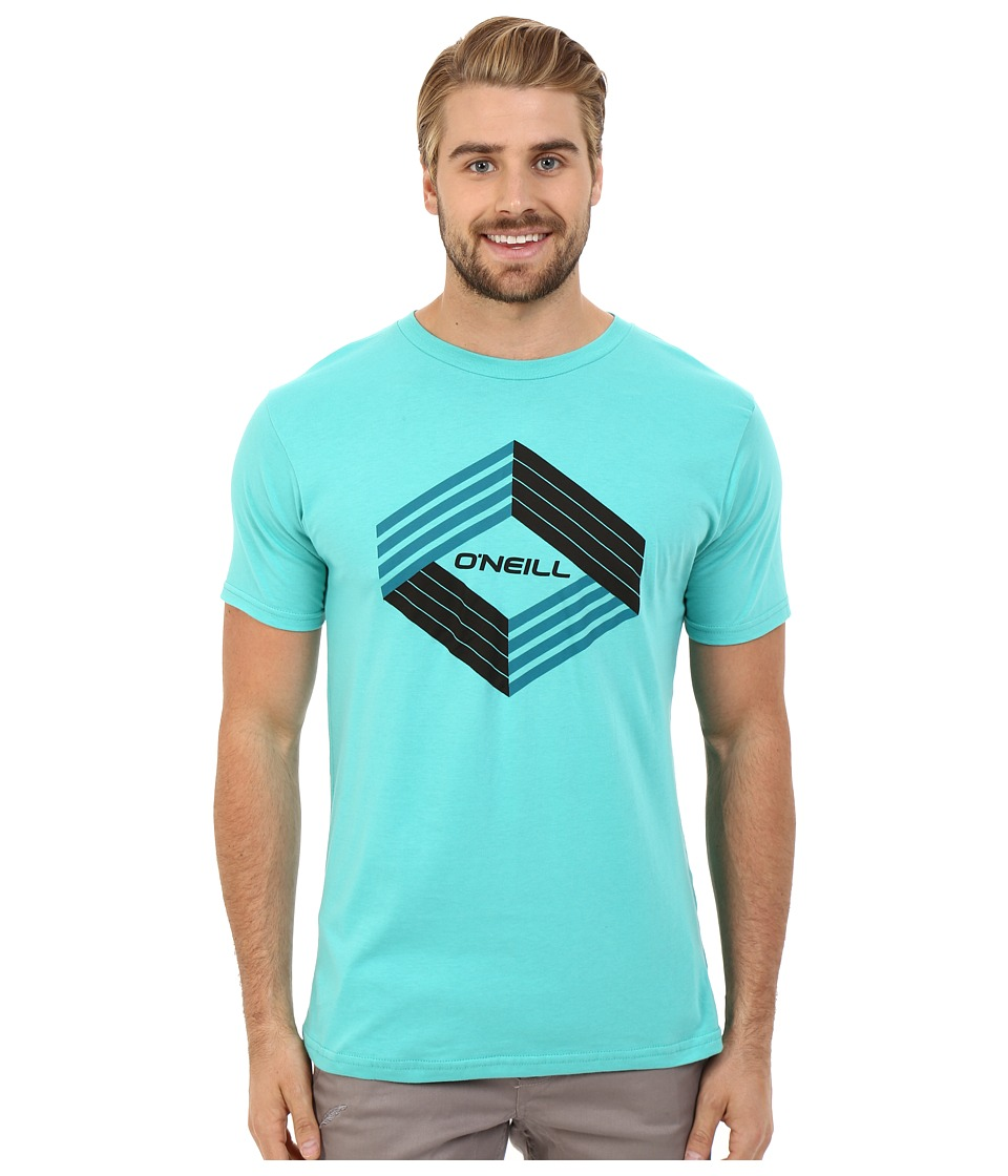 O'Neill - Highlander Short Sleeve Screen Tee (Aquarius) Men's T Shirt