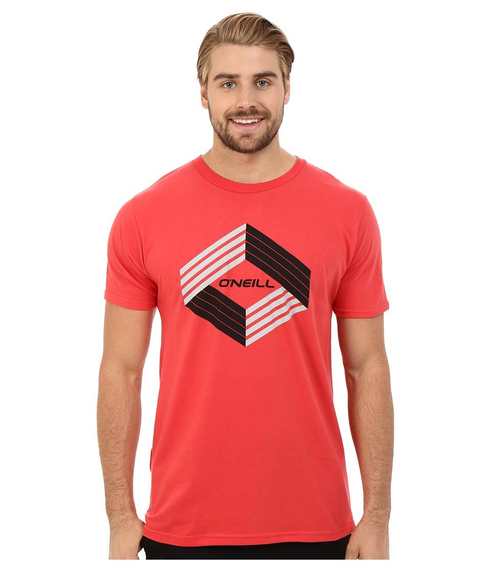 O'Neill - Highlander Short Sleeve Screen Tee (Red) Men's T Shirt
