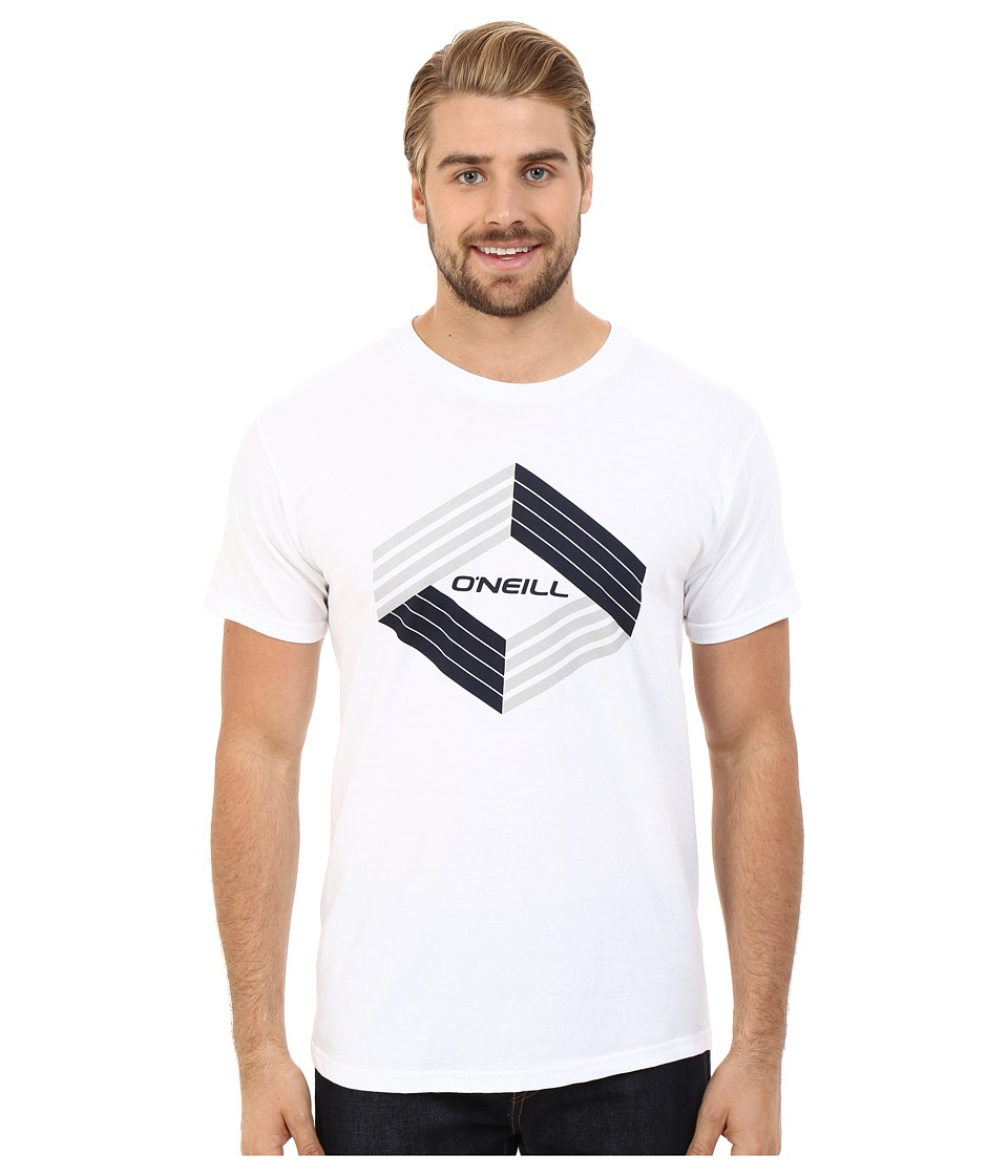 O'Neill - Highlander Short Sleeve Screen Tee (White) Men's T Shirt