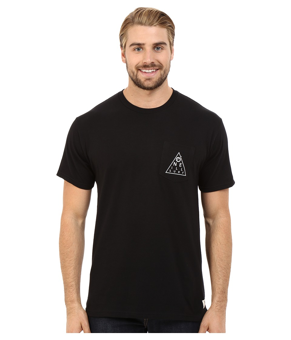O'Neill - Chart Short Sleeve Screen Tee (Black) Men's T Shirt