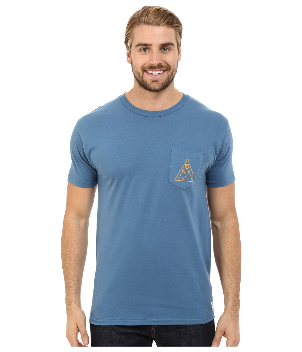 O'Neill - Chart Short Sleeve Screen Tee (Blue) Men's T Shirt