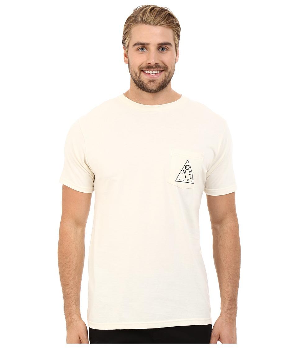O'Neill - Chart Short Sleeve Screen Tee (Smoke) Men's T Shirt