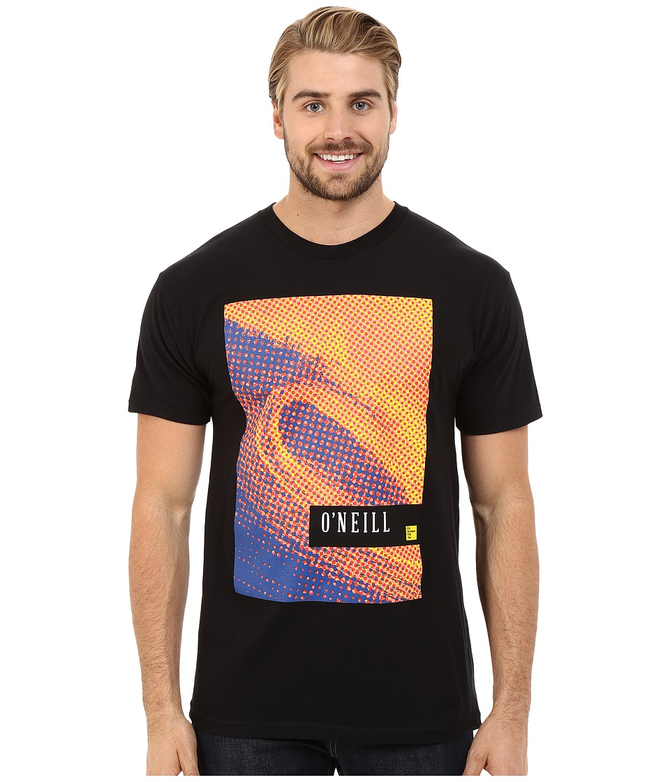 O'Neill - Tone Short Sleeve Screen Tee (Black) Men's T Shirt