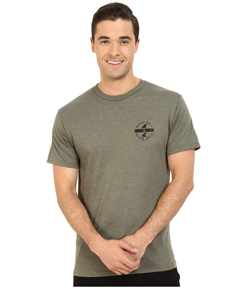O'Neill - Glass On Short Sleeve Screen Tee (Light Sage) Men's T Shirt