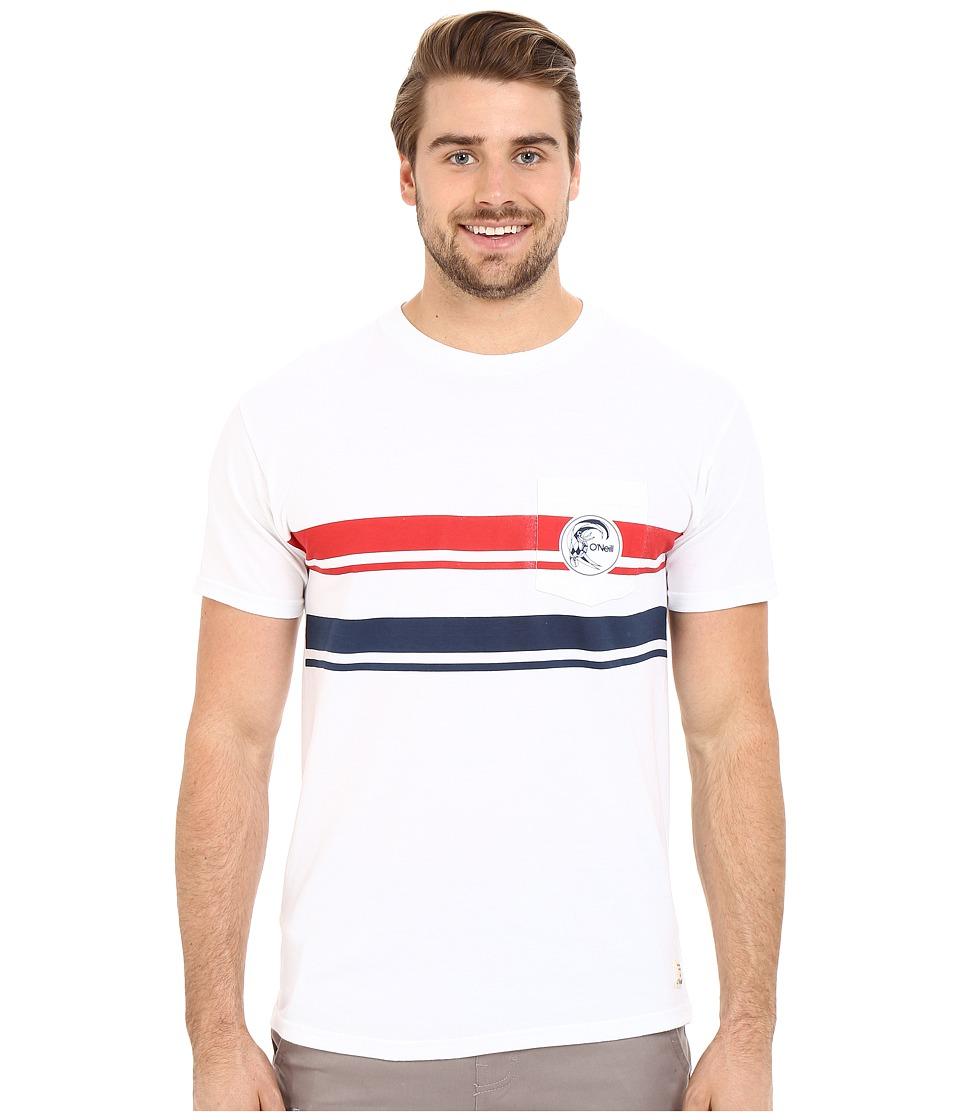 O'Neill - Doubletake Short Sleeve Screen Tee (White) Men's T Shirt