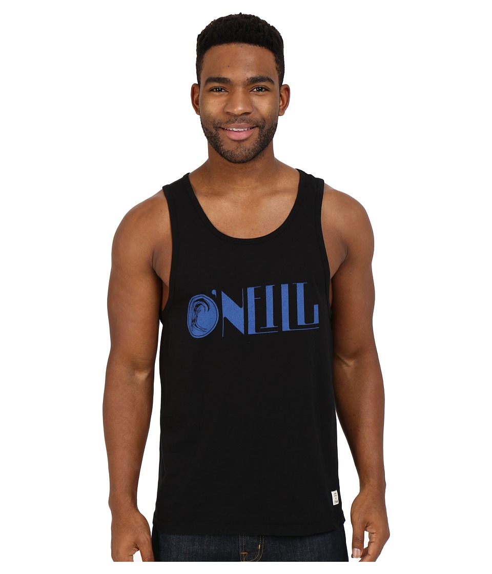 O'Neill - Modernity Tank Top (Black) Men's Sleeveless