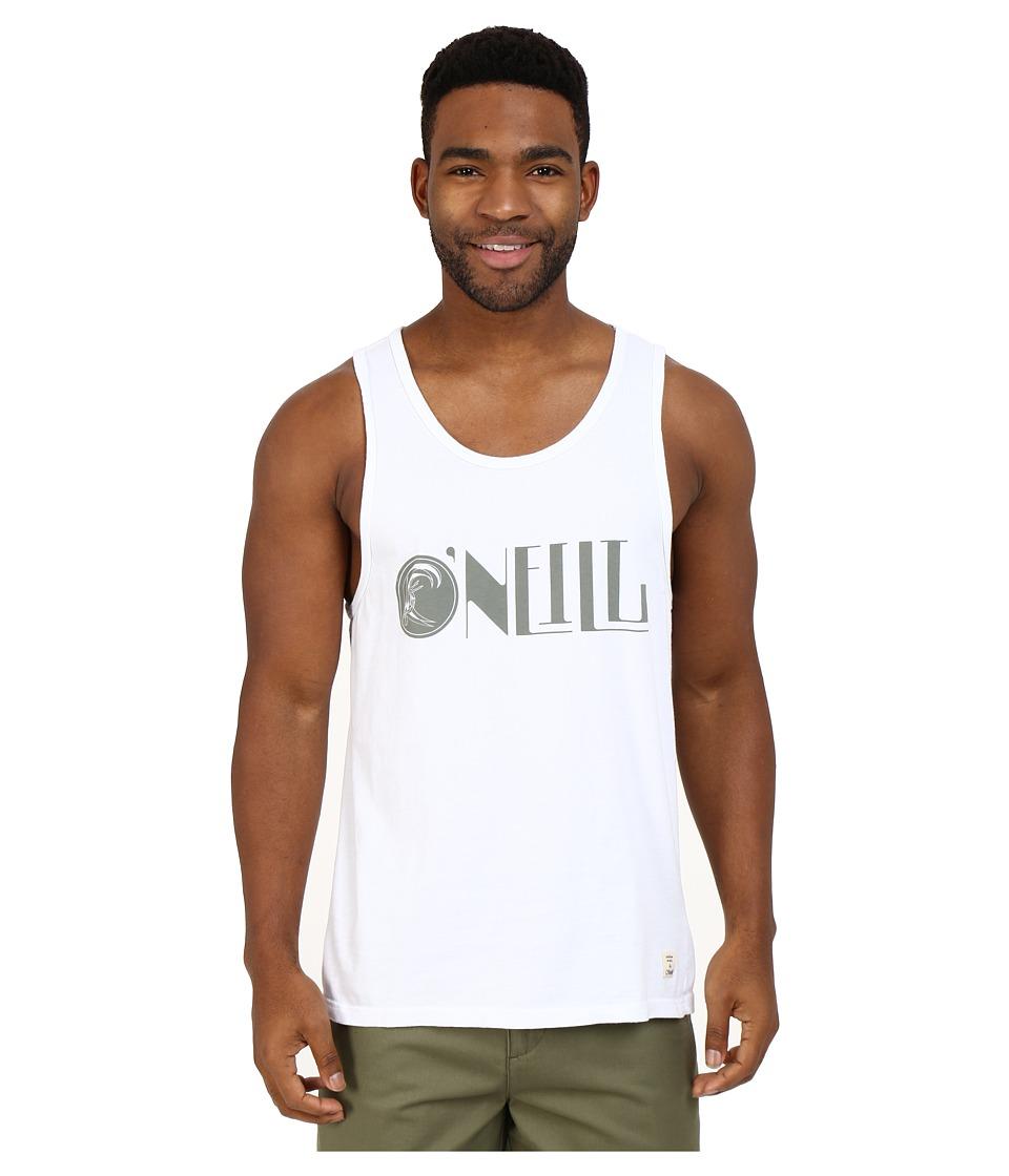 O'Neill - Modernity Tank Top (White) Men's Sleeveless