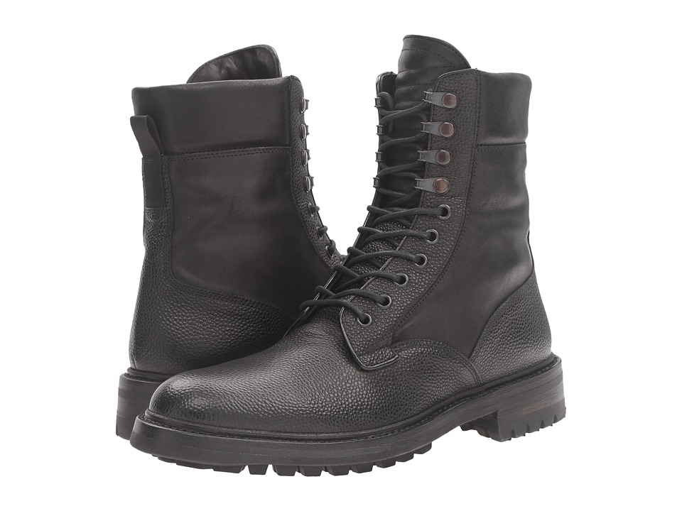rag & bone - Spencer Commando Boot (Black) Men's Boots