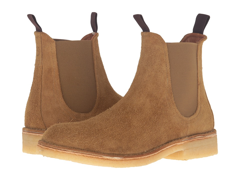 rag & bone - Military Chelsea Boot (Tan Suede) Men's Boots