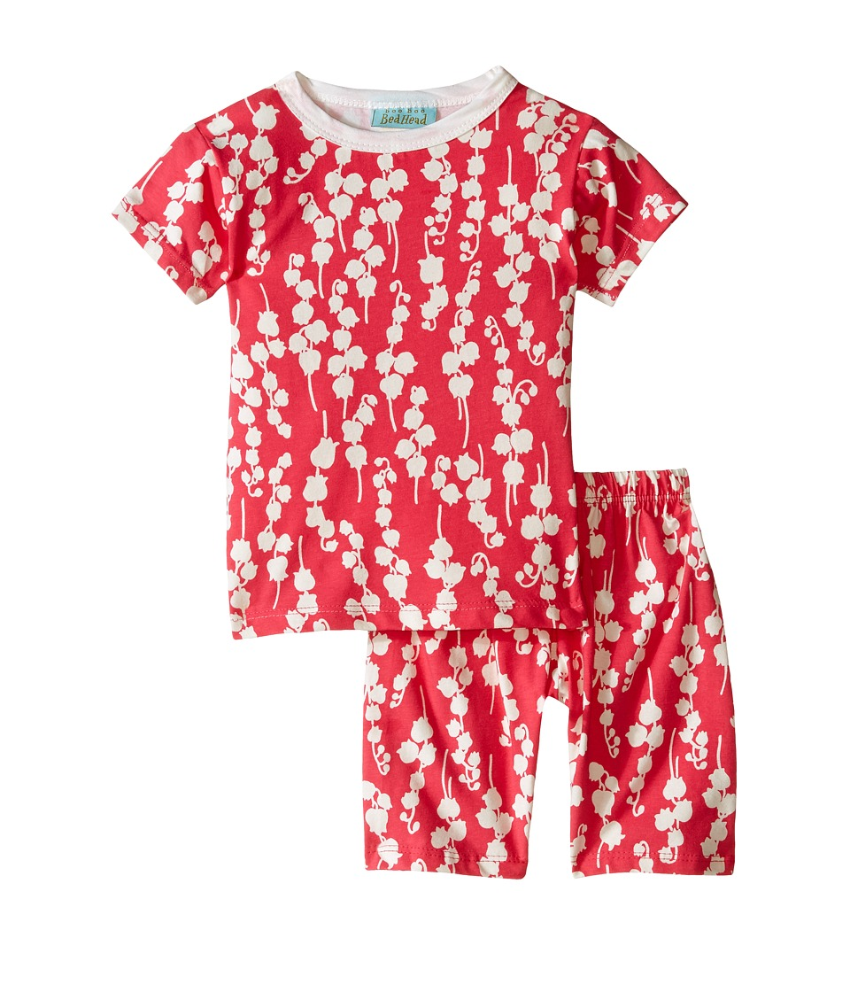 BedHead Kids - Short Sleeve Short Bottom Pajama Set (Toddler/Little Kids) (Bellflower) Girl's Pajama Sets