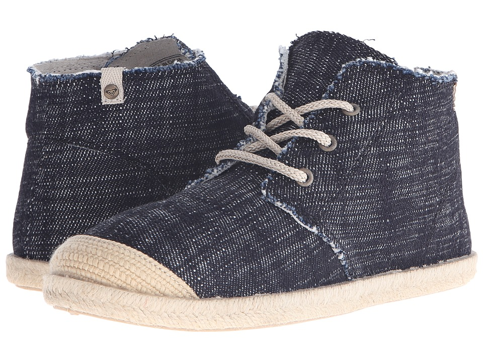 Roxy - Flamenco Mid (Black) Women's Lace up casual Shoes