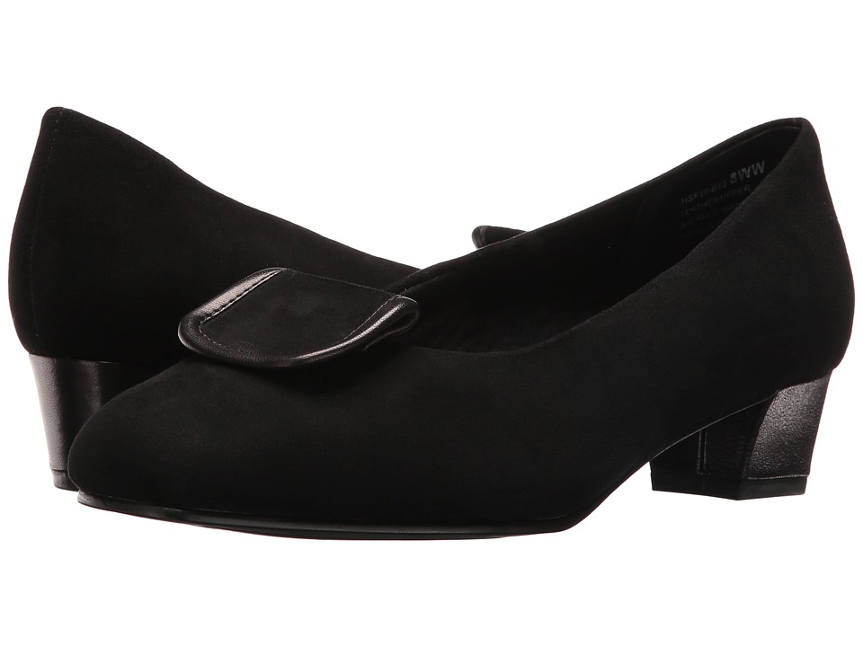 David Tate - Ariana (Black Suede) Women's Sandals