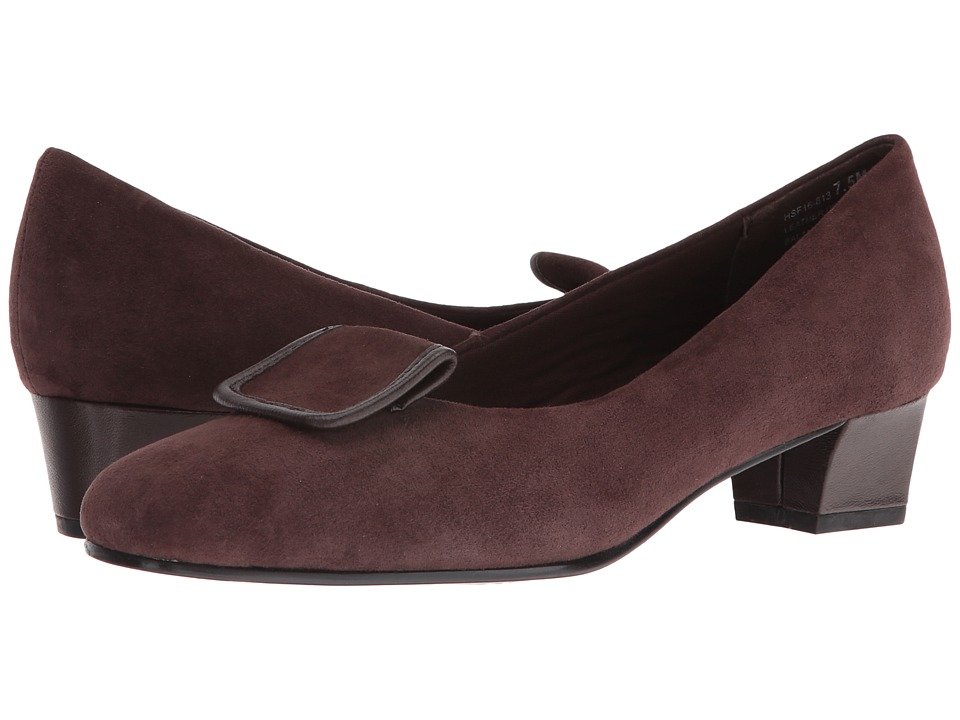 David Tate - Ariana (Brown Suede) Women's Sandals