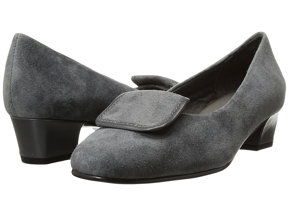 David Tate - Ariana (Gray Suede) Women's Sandals
