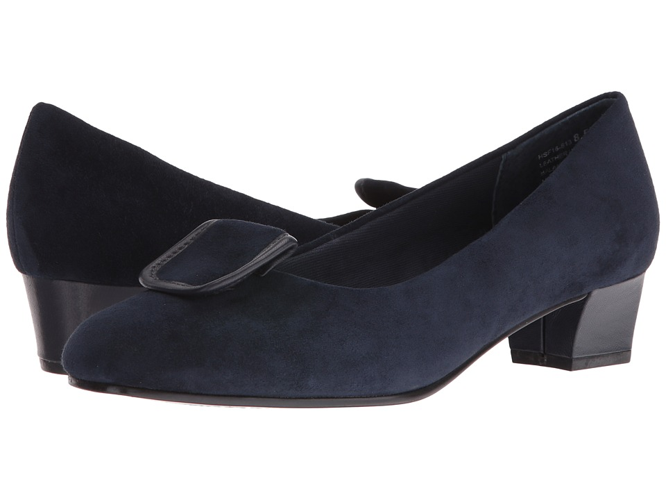 David Tate - Ariana (Navy Suede) Women's Sandals