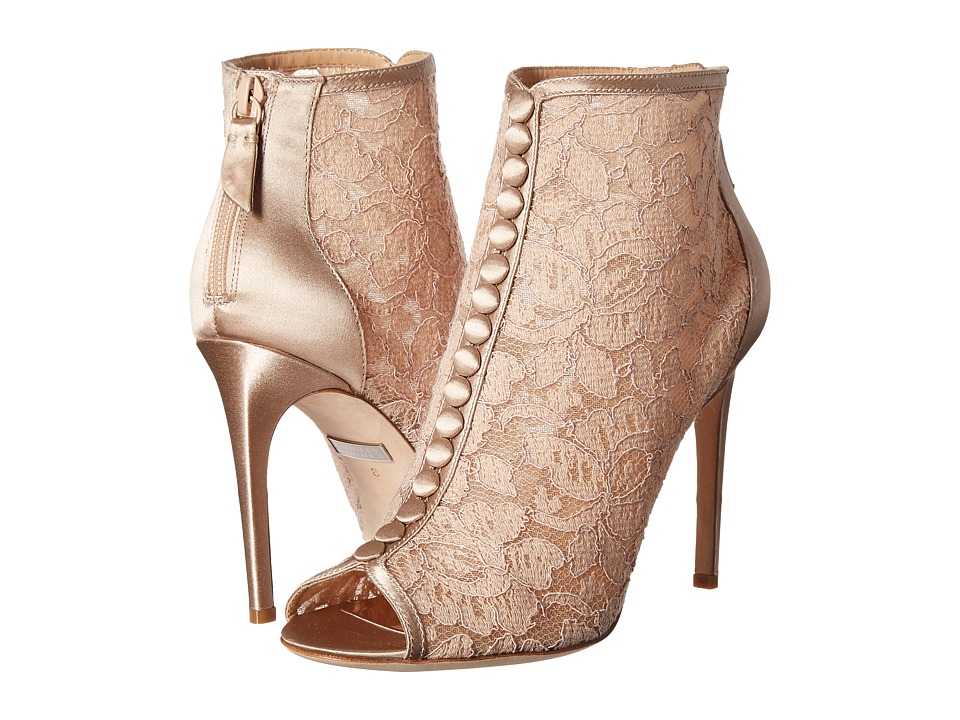 Badgley Mischka - Nerina (Latte Lace) High Heels