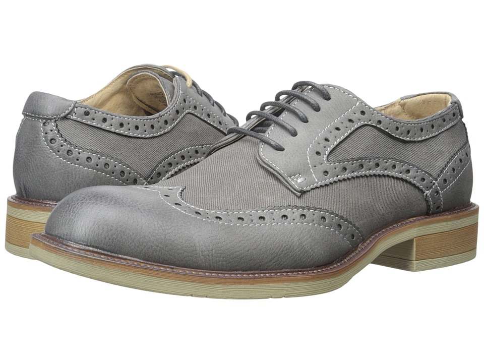 Steve Madden - Zino (Grey) Men's Shoes