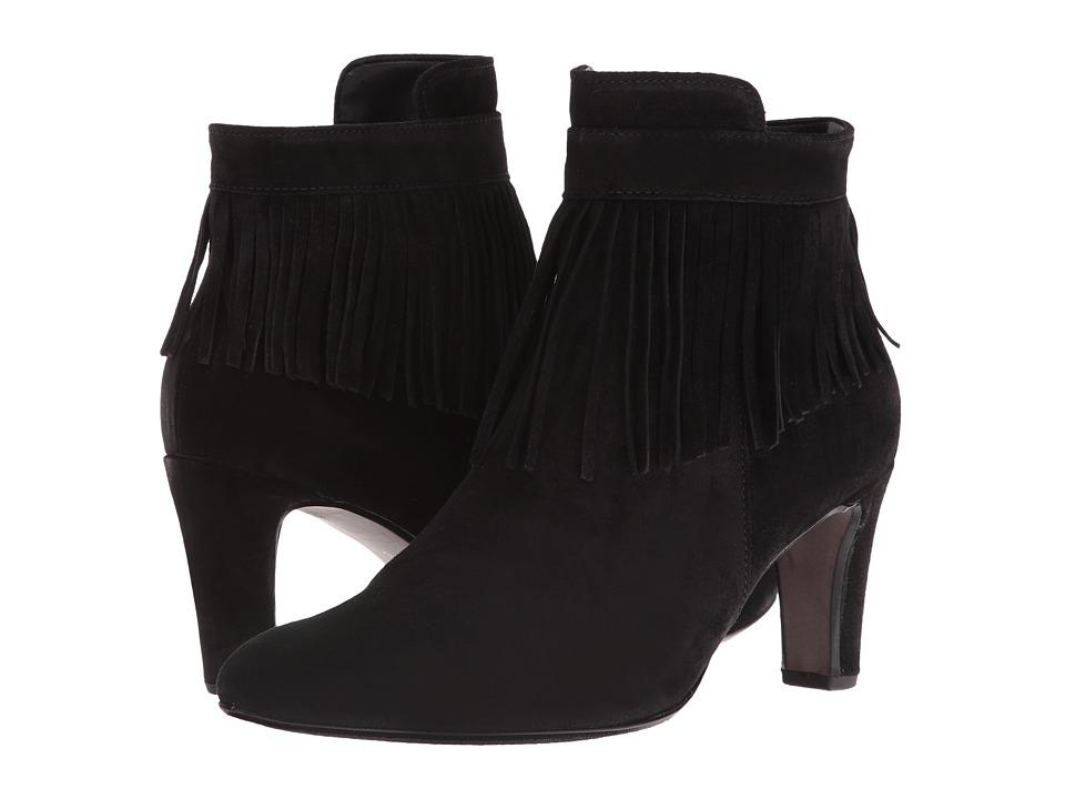 Gabor - Gabor 51.702 (Black Dreamvelour) Women's Pull-on Boots