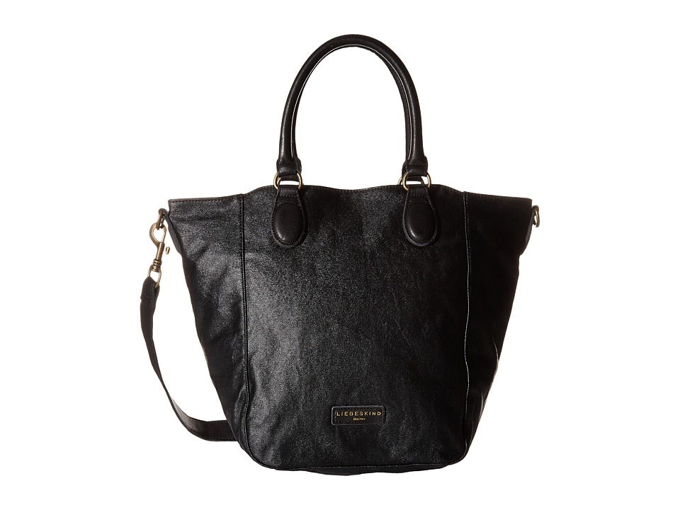 Liebeskind - Andrea Canvas (Black) Handbags
