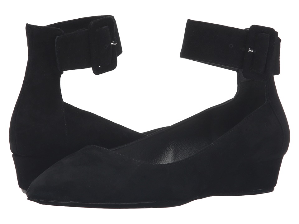 Alice + Olivia - Kiki (Black Prime Suede) Women's Shoes