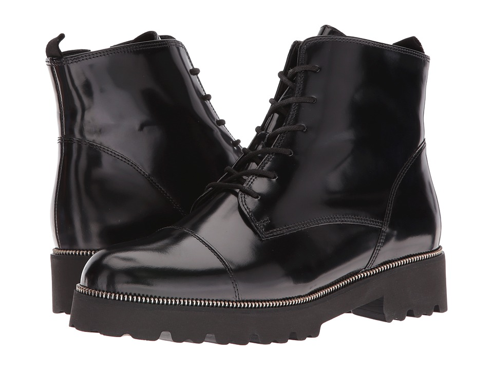 Gabor - Gabor 51.800 (Black Boxcalf) Women's Lace-up Boots