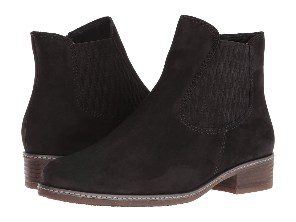 Gabor Gabor 52.722 (Black Nubuck Oil) Women