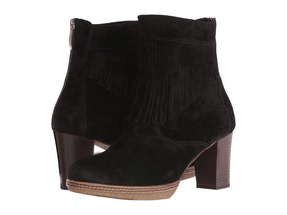 Gabor - Gabor 52.873 (Black Dreamvelour) Women's Pull-on Boots