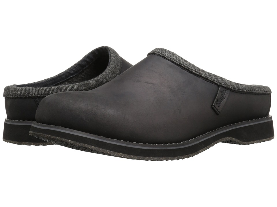 Simple - Bravado (Black Leather) Men's Shoes