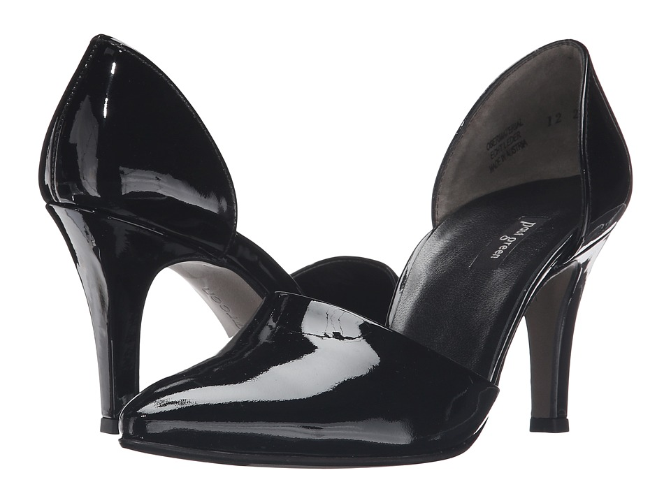 Paul Green Char Heel (Black Patent) Women