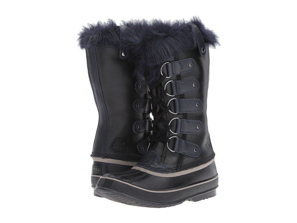 SOREL - Joan of Artic Obsidian (Black/Collegiate Navy) Women's Cold Weather Boots