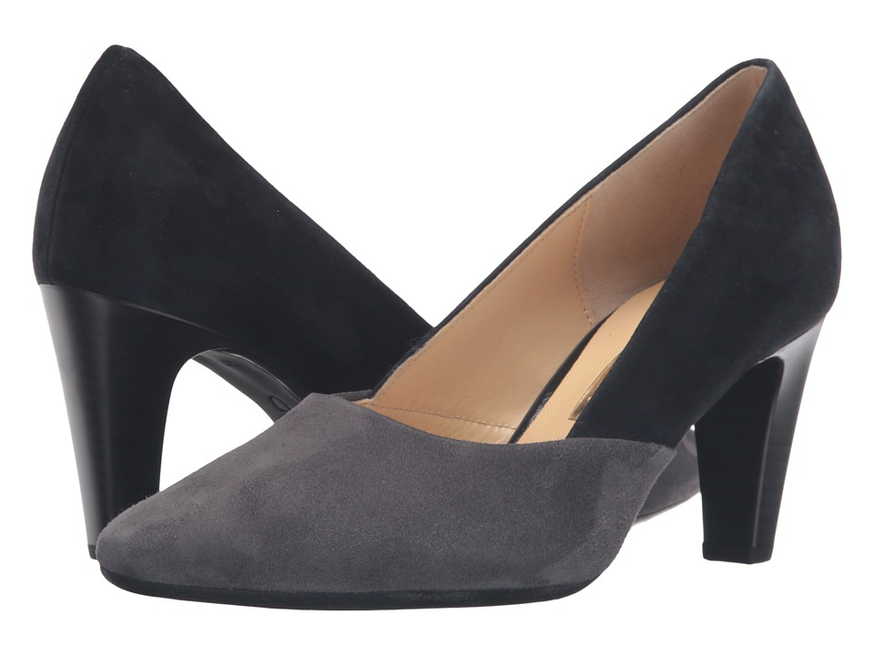 Gabor - Gabor 55.150 (Navy/Dark Grey Samtchevreau) High Heels