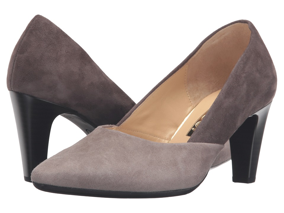 Gabor - Gabor 55.150 (Medium Taupe/Tan Samtchevreau) High Heels