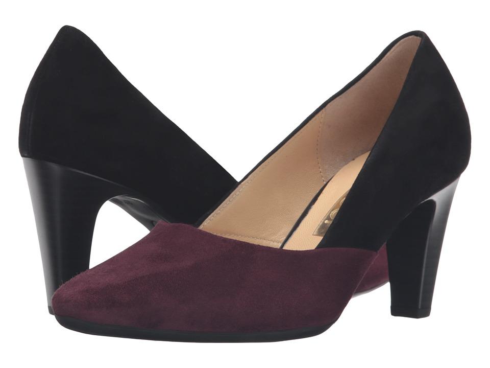 Gabor Gabor 55.150 (Black/New Merlot Samtchevreau) High Heels
