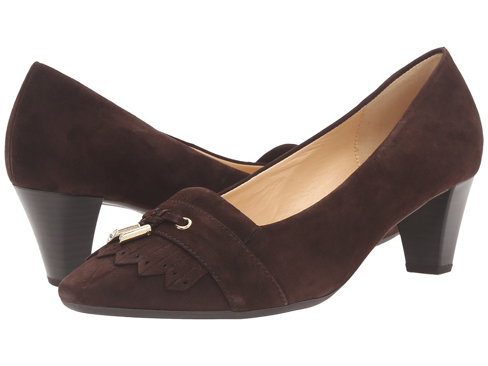 Gabor Gabor 55.142 (Brown Samtchevreau) High Heels