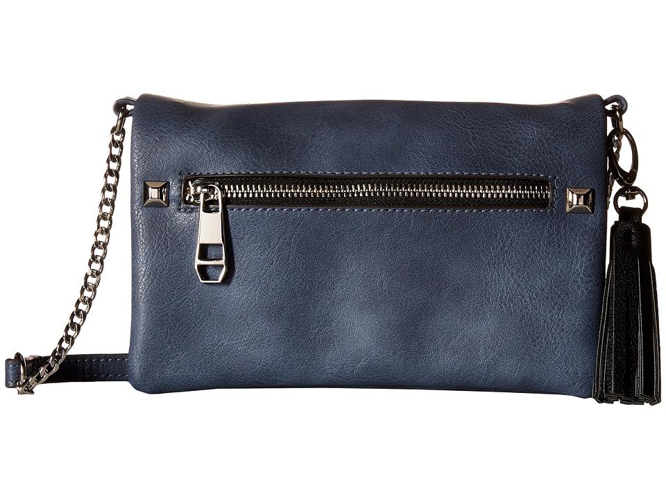Madden Girl - Mgrockrr Crossbody (Blue) Cross Body Handbags