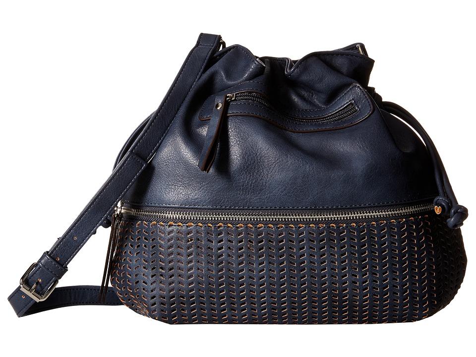 Madden Girl - Mgdaisie Crossbody (Blue) Cross Body Handbags