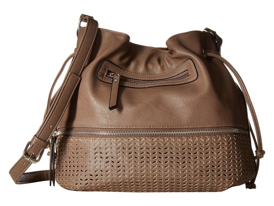 Madden Girl - Mgdaisie Crossbody (Smoke) Cross Body Handbags